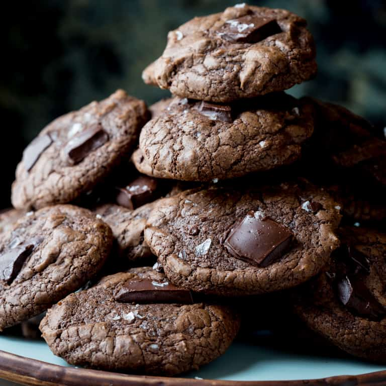 Double Chocolate Gluten Free Cookies