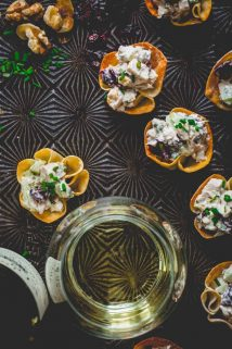 These 15 minute chicken salad bites are the easiest appetizers to make | Healthy Seasonal Recipes