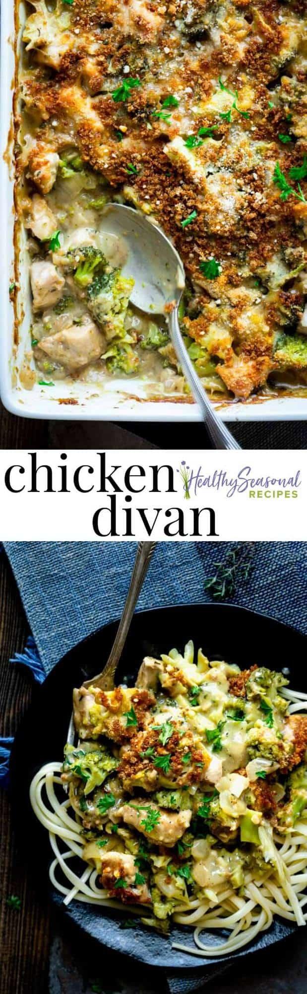 healthy chicken divan