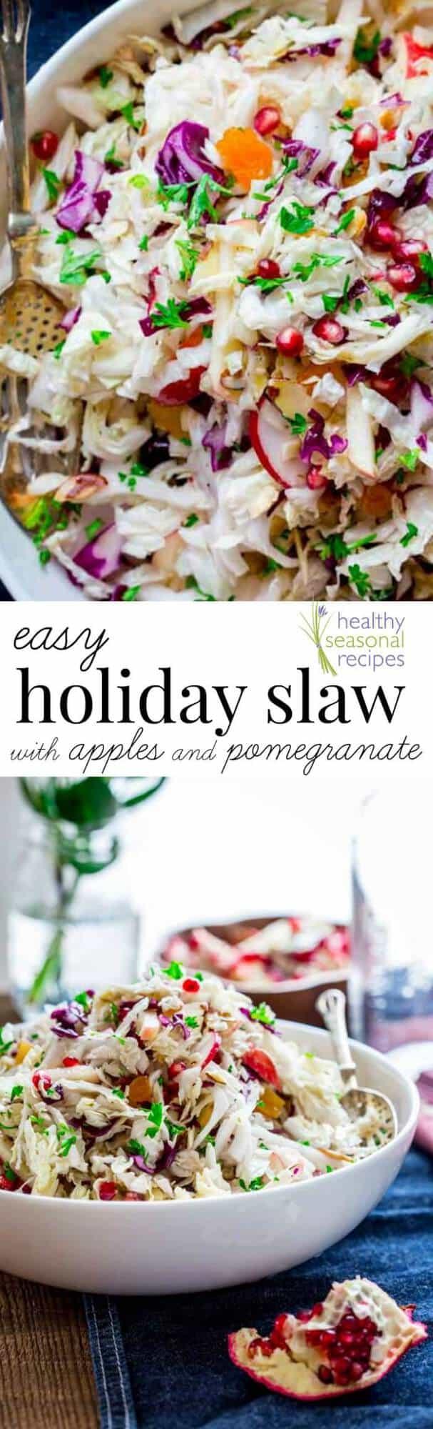 Easy holiday healthy recipes