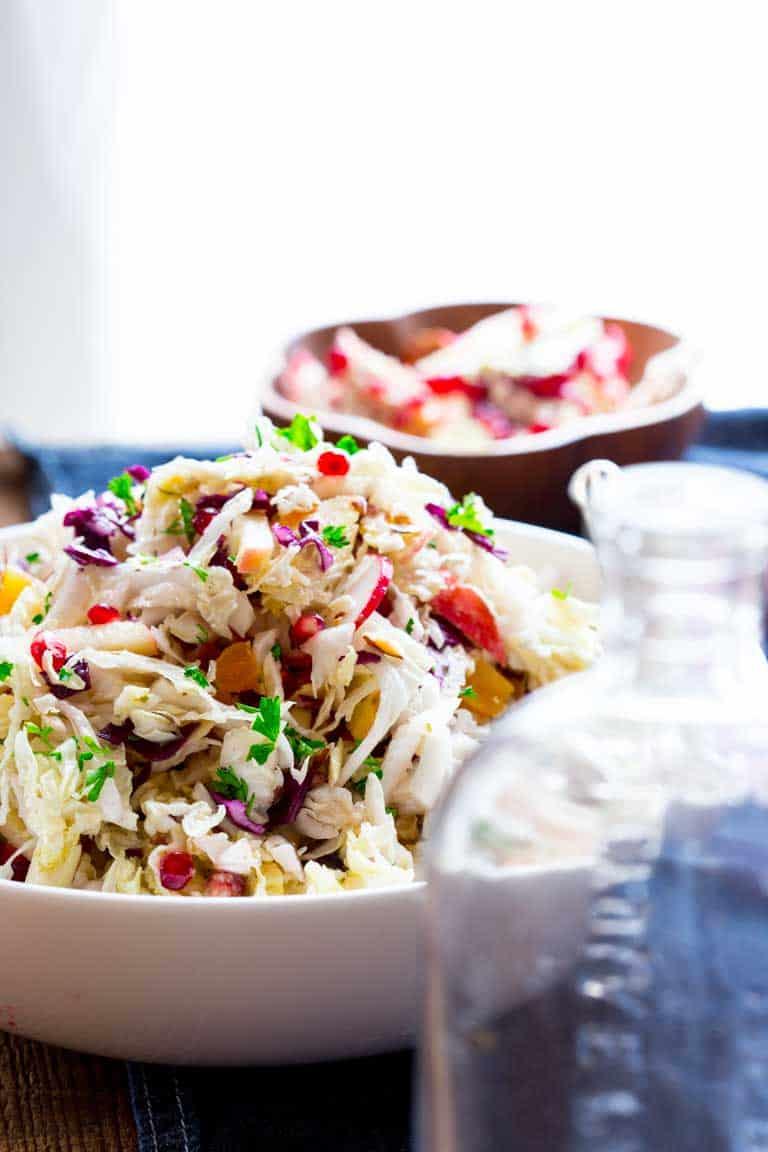 Easy christmas coleslaw recipe