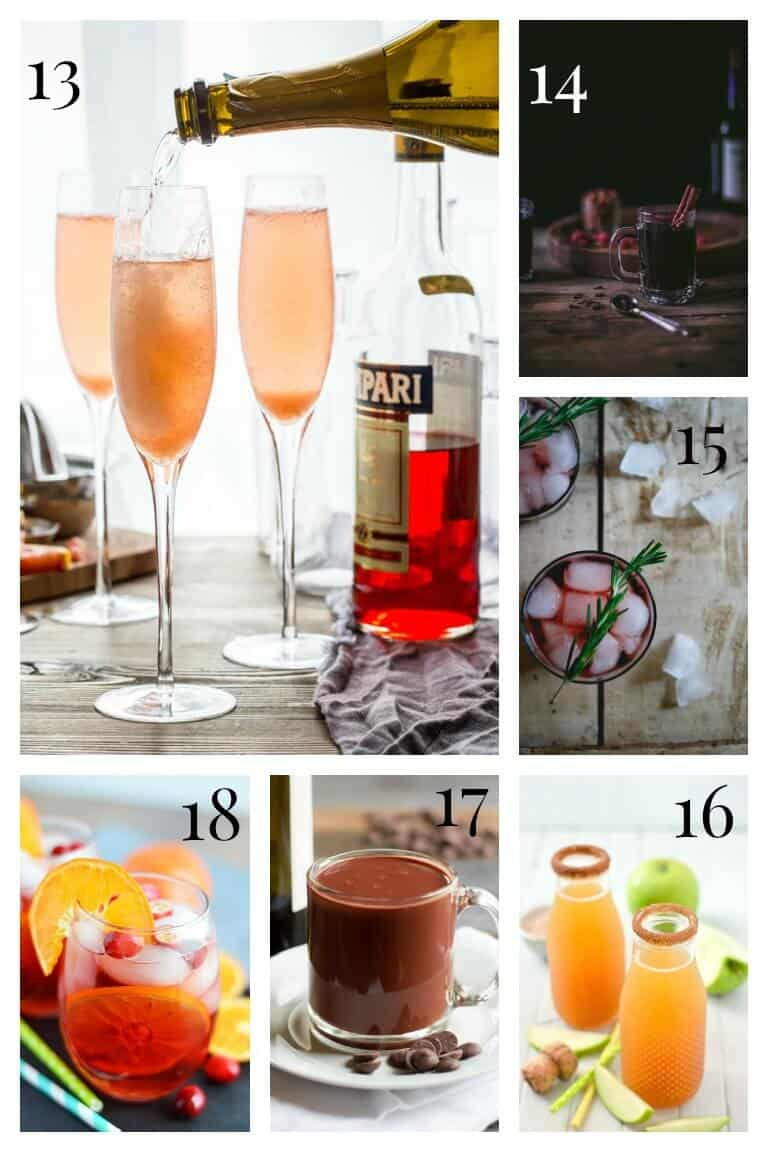 15+ Festive Winter Cocktails | Wine | Champagne| Cocktails | Winter | Healthy Seasonal Recipes | Katie Webster