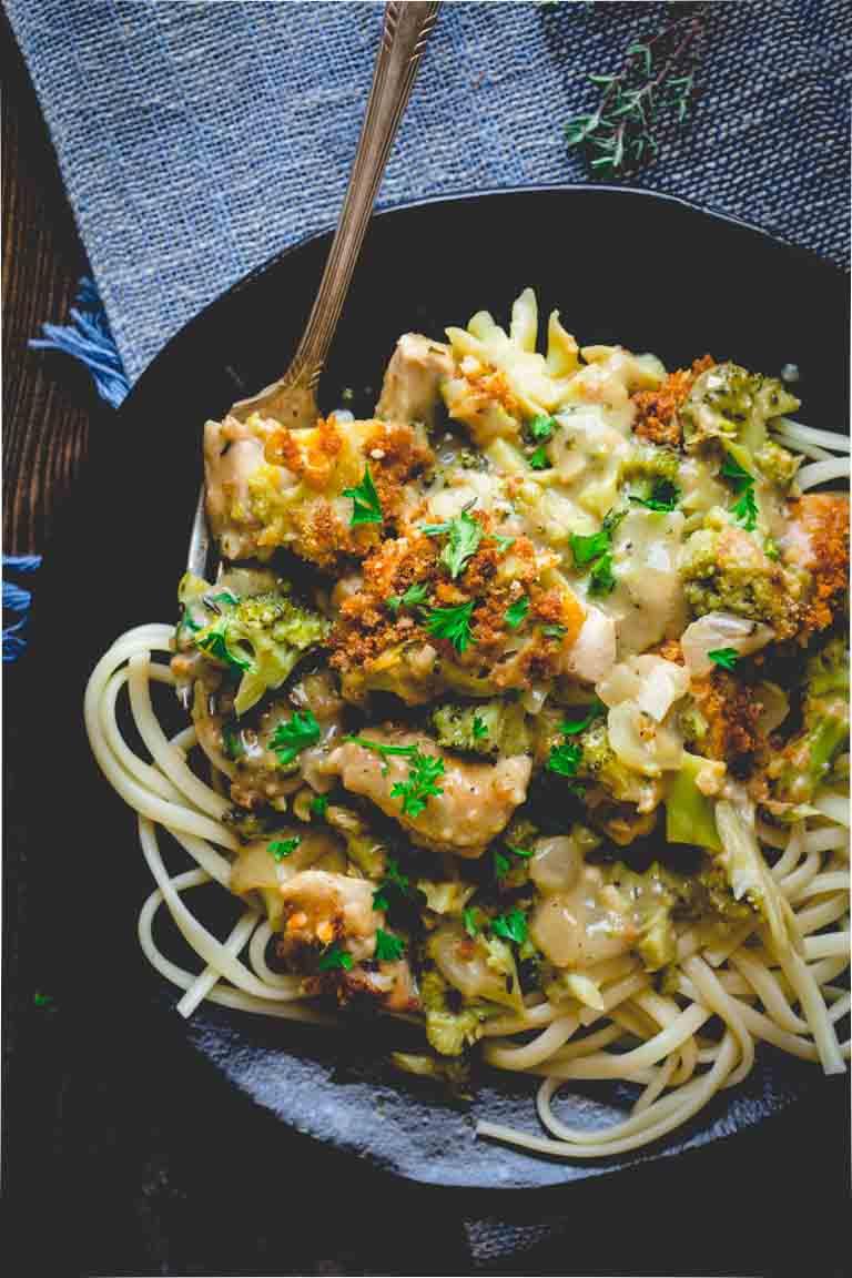 Healthy Chicken Divan | Comfort Food | Broccoli | Main Course | Winter | Comfort Food Make Over | Healthy Seasonal Recipes | Katie Webster