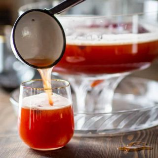 Maple Spiced Rum Punch   Drink   Holiday   Christmas   Rum   Maple Syrup   Apple Juice   Cranberry Juice   Winter   Healthy Seasonal Recipes   Katie Webster