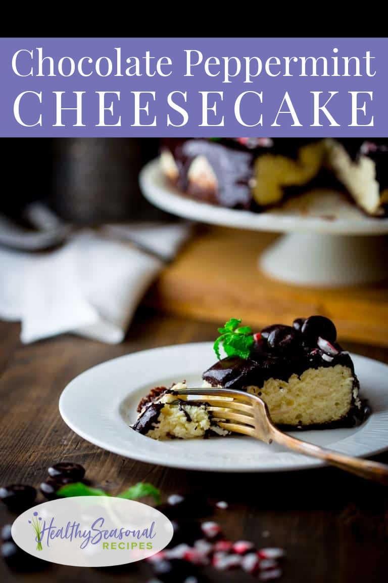 peppermint pattie cheesecake