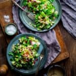Chopped Winter Salad on Healthy Seasonal Recipes by Katie Webster | Gluten-free, vegan-friendly and paleo