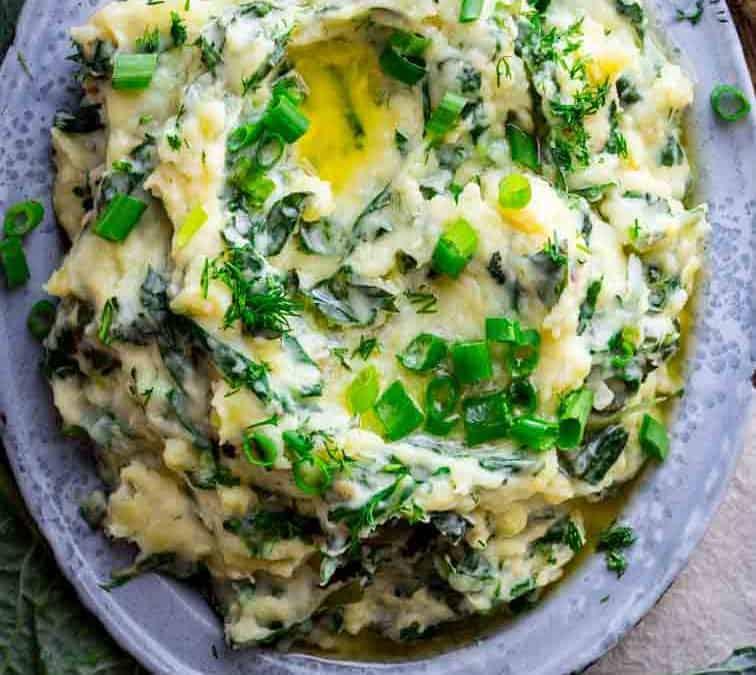 cheddar horseradish colcannon