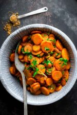 hot moroccan carrots