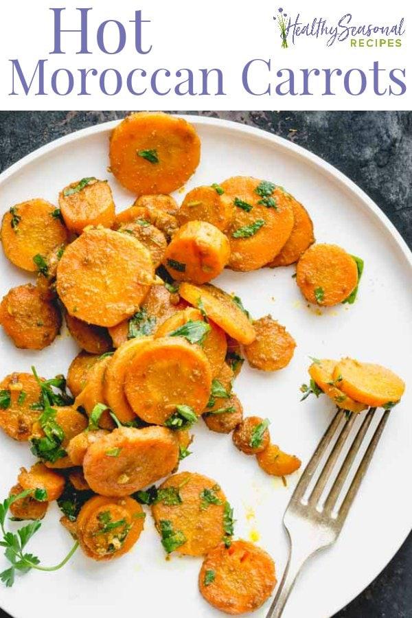 hot moroccan carrots