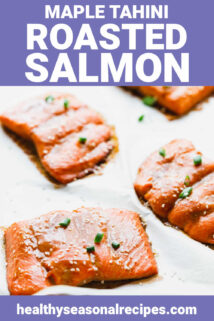 salmon on parchment with text overlay