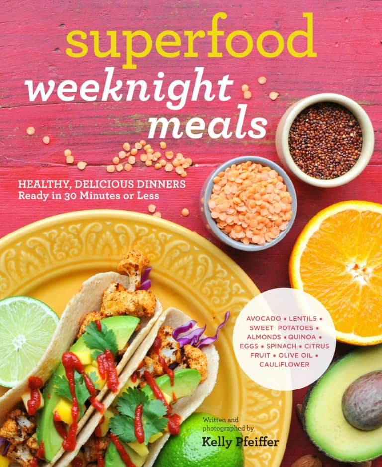 superfood weeknight meals cookbook