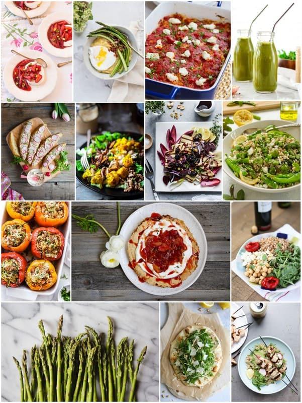Eat Seasonal May produce recipes