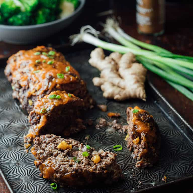 5 spice meatloaf with apricot ginger glaze