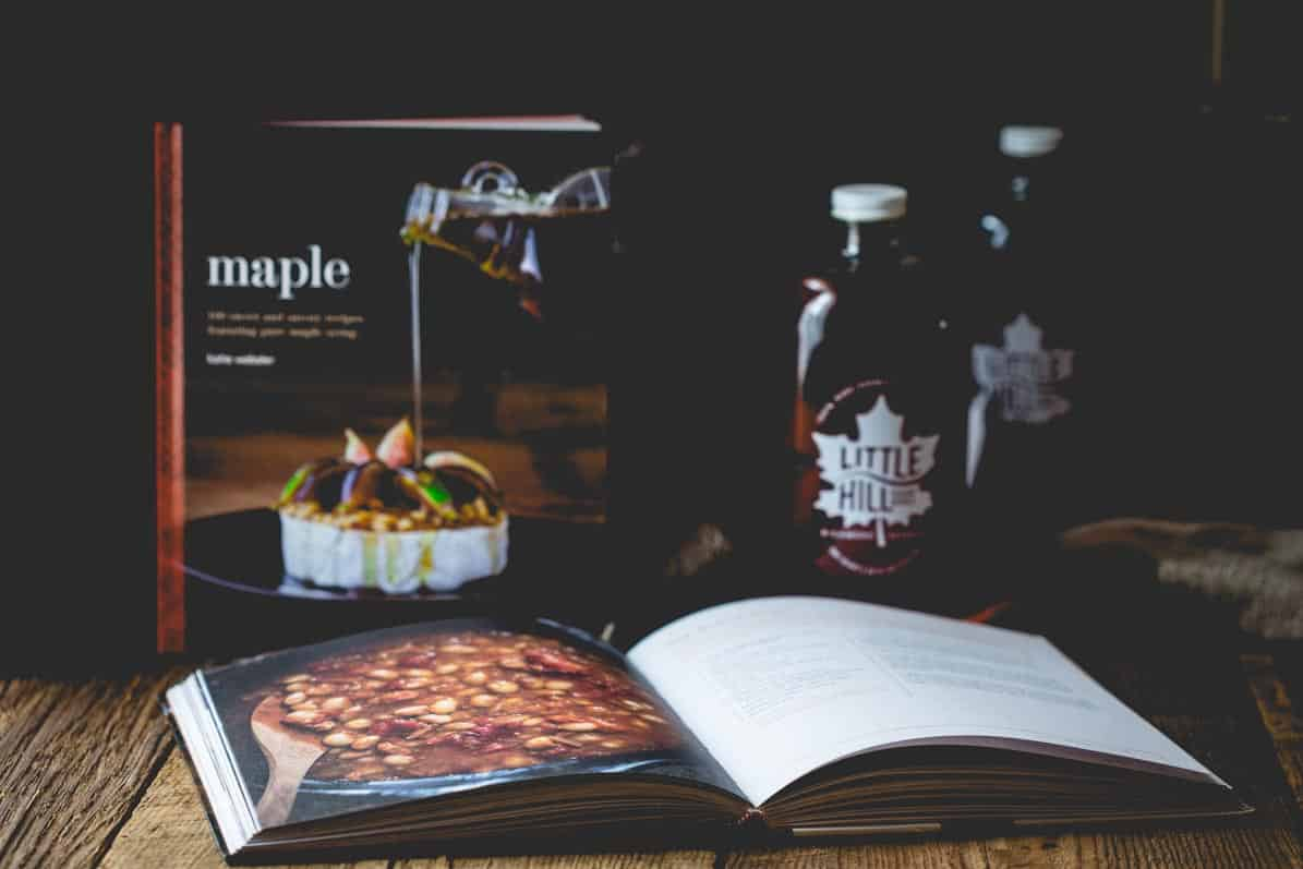 Signed Copies of Maple: 100 Sweet and Savory Recipes Featuring Pure Maple Syrup by Katie Webster