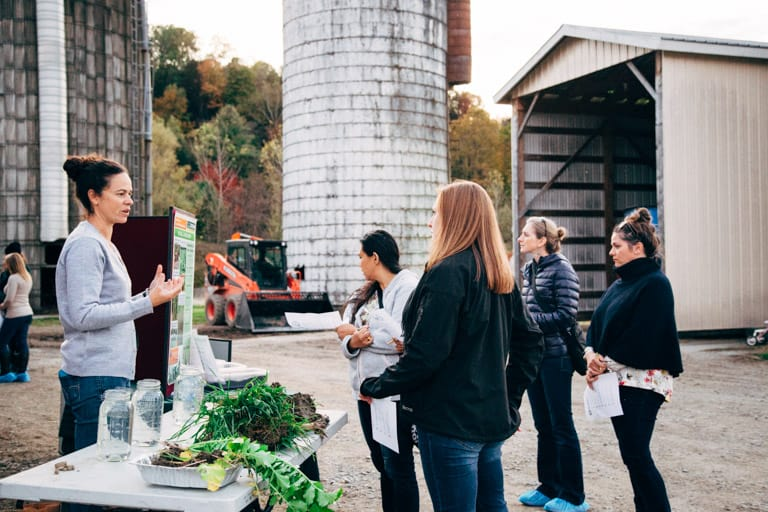 Farm Tour at Farr Farm in Richmond VT | Healthy Seasonal Recipes