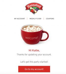 How to sign up for the My Hannaford Reward Program on Healthy Seasonal Recipes