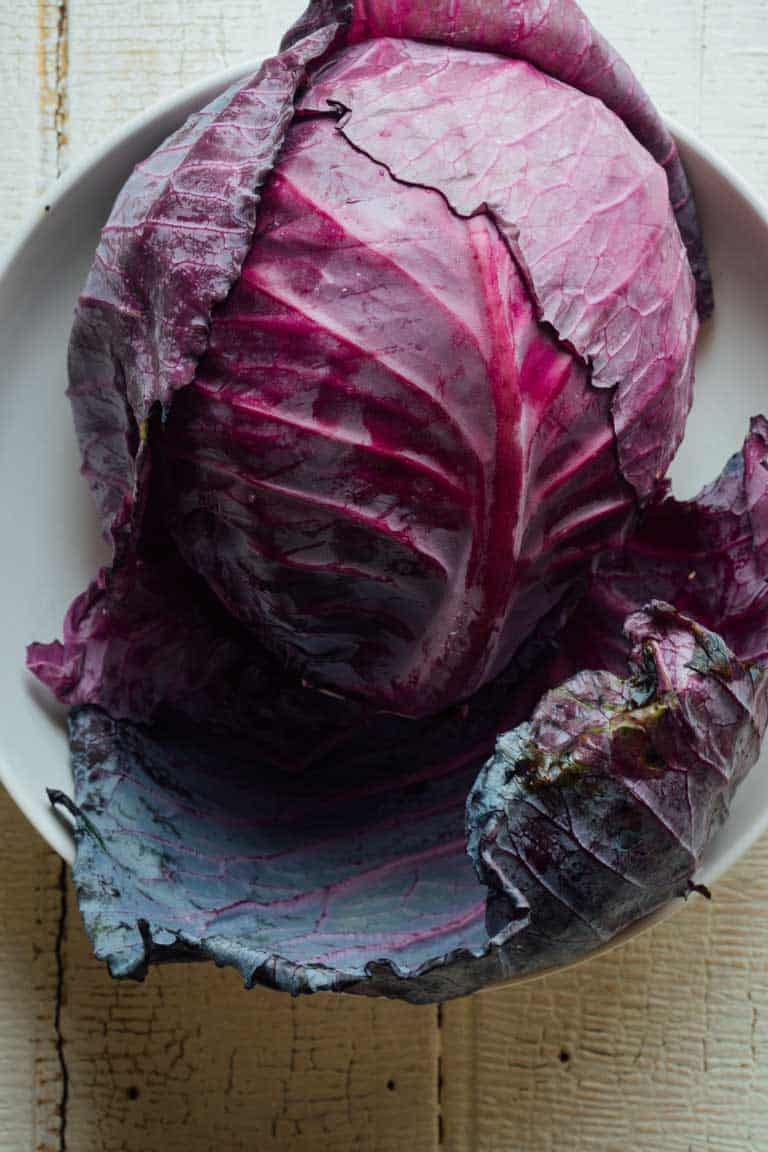 buying and storing cabbage in the Ultimate Guide To Cabbage on Healthy Seasonal Recipes by Katie Webster