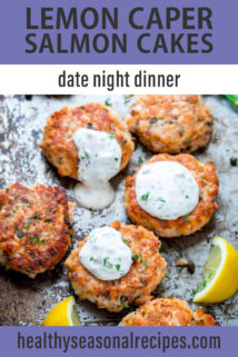 salmon cakes sheet pan