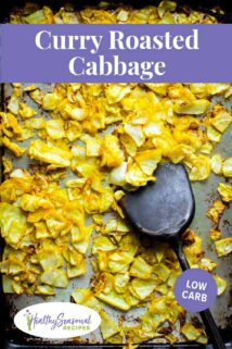 curry roasted cabbage pan