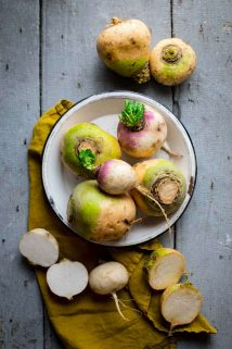 Golden and purple top turnips | The Ultimate Guide to Turnips on Healthy Seasonal Recipes #turnips