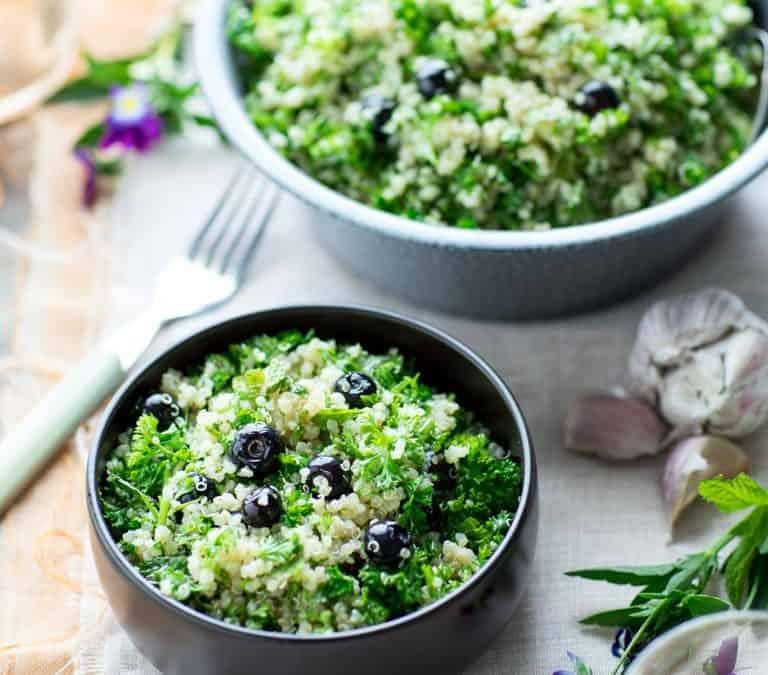 blueberry quinoa tabbouleh
