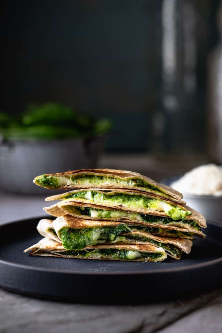 Spinach Quesadilla