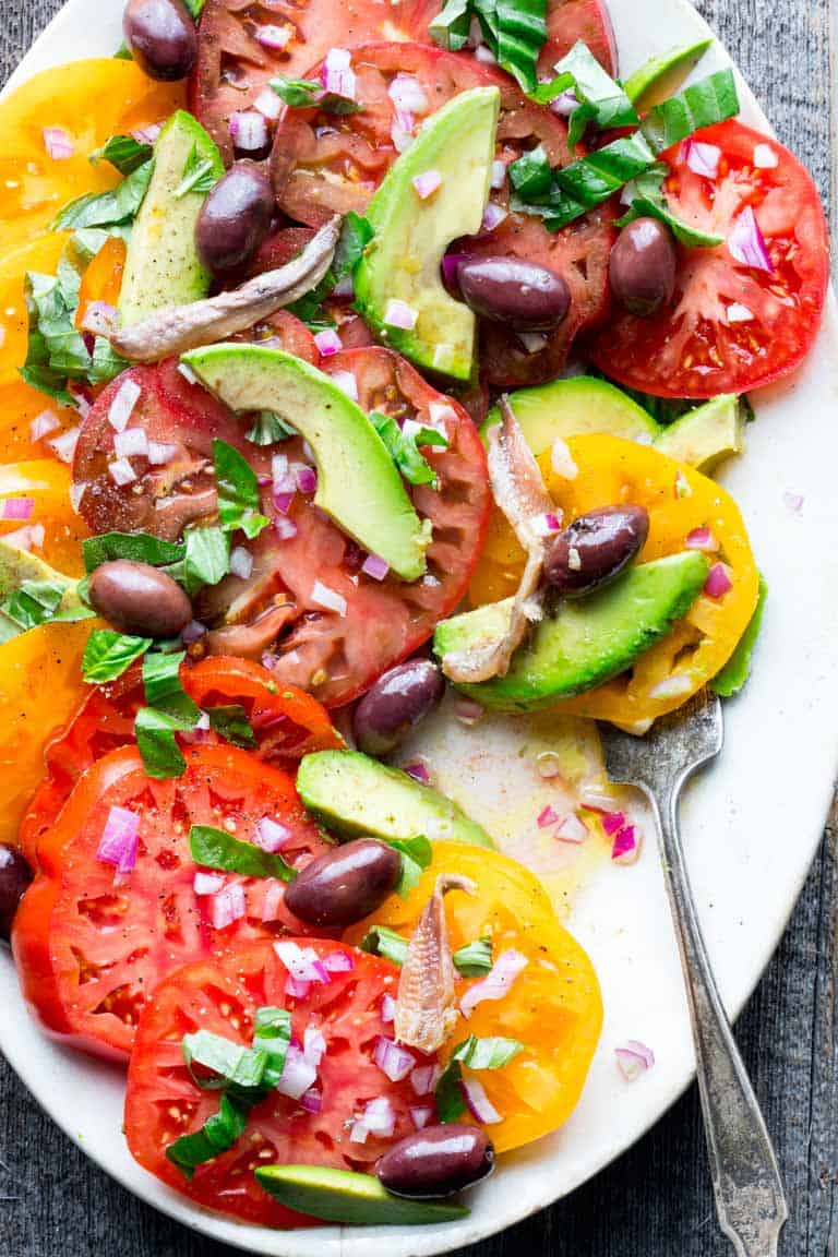 simple heirloom tomato salad - Healthy Seasonal Recipes