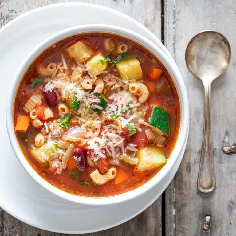 Minestrone Soup Healthy Seasonal Recipes