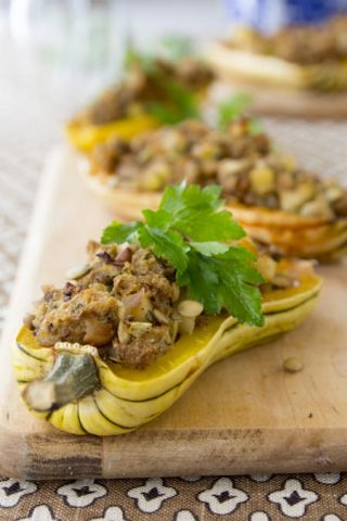 23 Delicata Squash Recipes | Healthy Seasonal Recipes | Katie Webster #delicatasquash #wintersquash #roastingsquash #thanksgiving