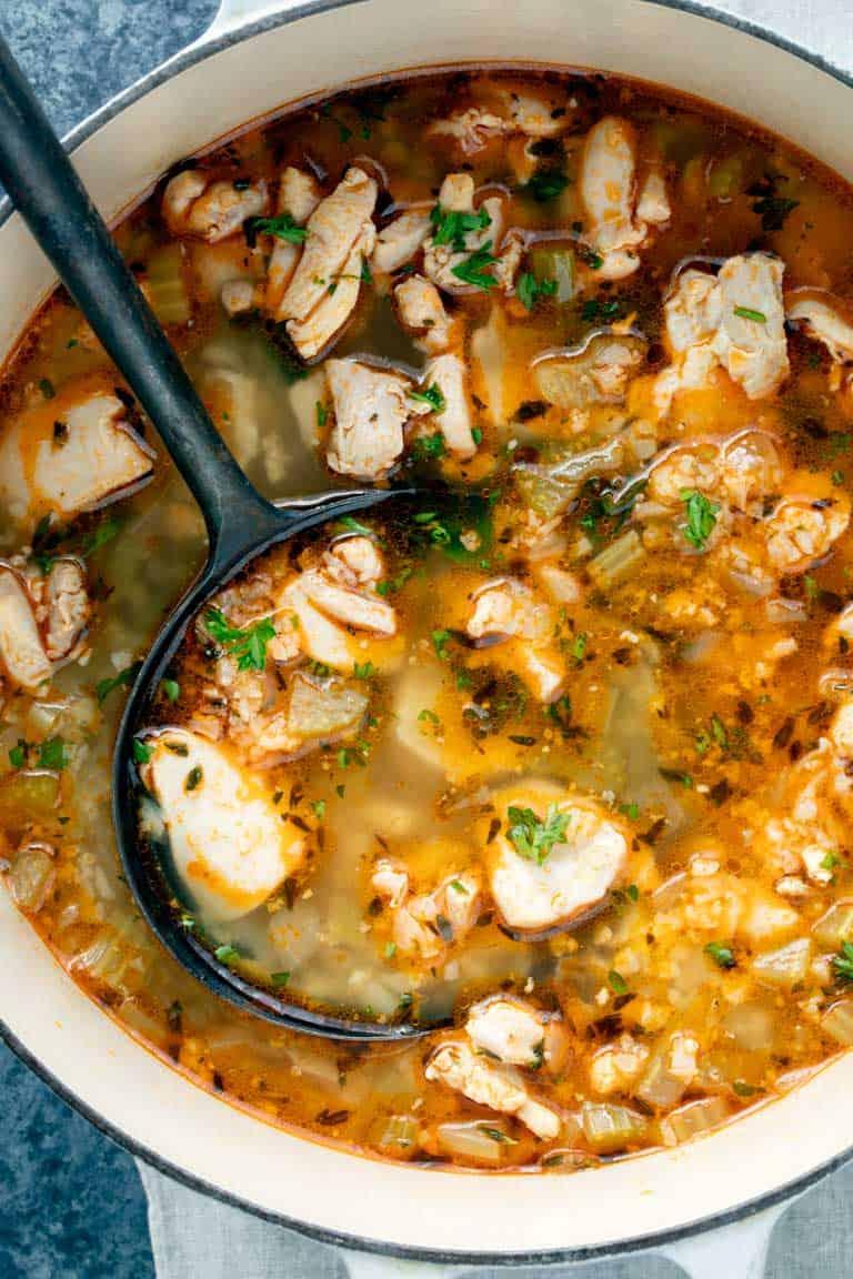 Keto Chicken Soup Healthy Seasonal Recipes