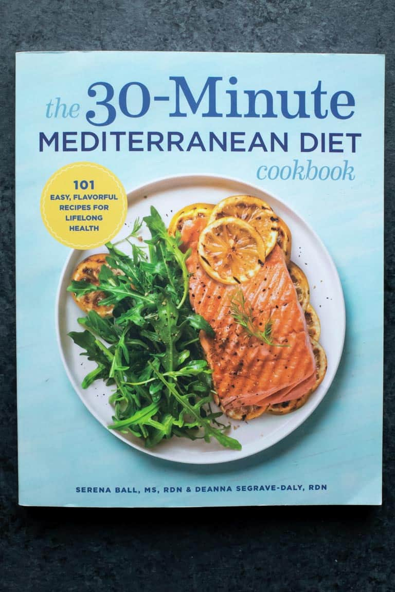 Cover of the 30-Minute Mediterranean Diet Cookbook