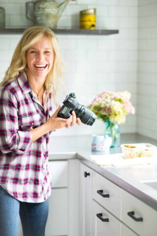 Katie Webster, the blogger behind Healthy Seasonal Recipes