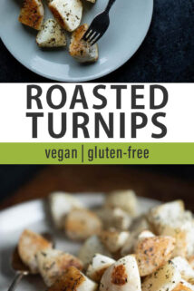 roasted turnip collage