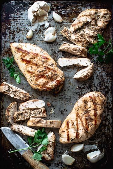 healthy 30 minute chicken parmesan