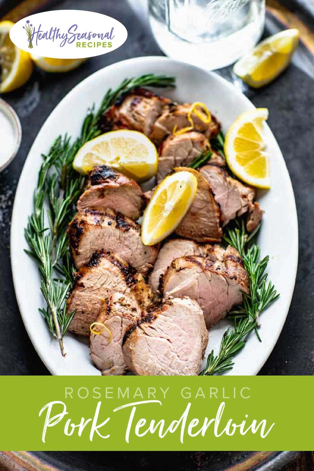 grilled lemon garlic pork tenderloin