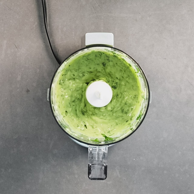 Puree until the mixture is smooth and creamy