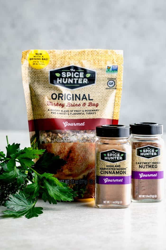Turkey brine kit from The Spice Hunter