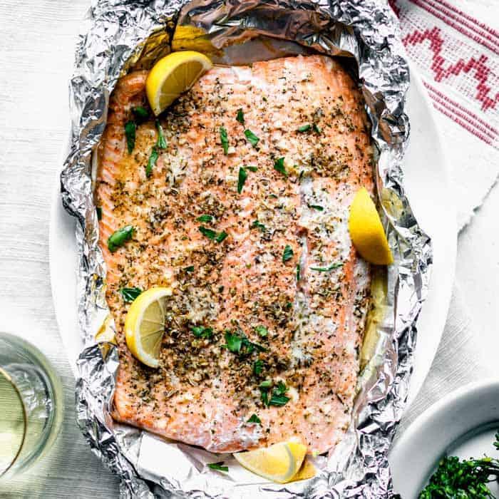 Easy Baked Salmon In Foil Healthy Seasonal Recipes