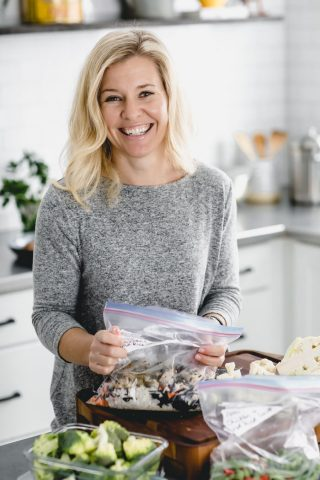 Katie Webster with Meal Prep Recipes