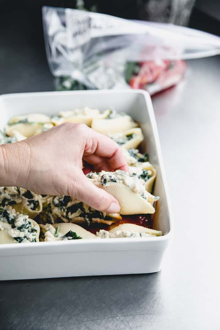 Meal Prep Stuffed Shells