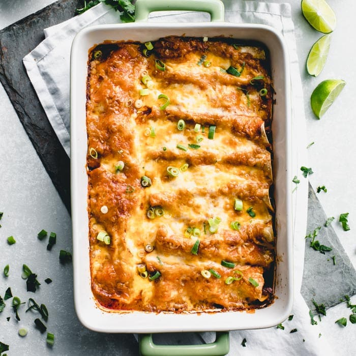 Easy Chicken Enchiladas Healthy Seasonal Recipes