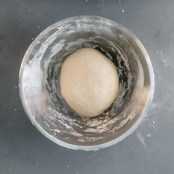 Return dough to the bowl