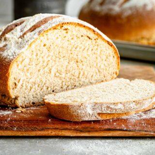 close up of cut whole wheat bread