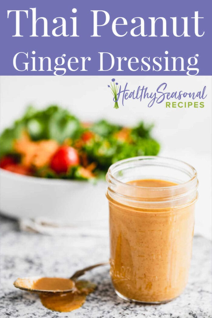 salad dressing with text overlay