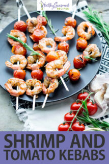 shrimp and tomato kebabs text overlay