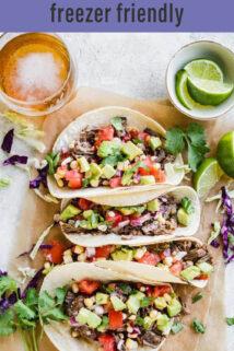 beef barbacoa tacos text overlay