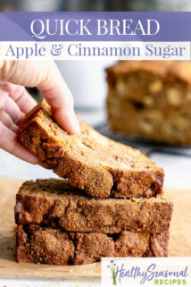 stack of apple cinnamon bread