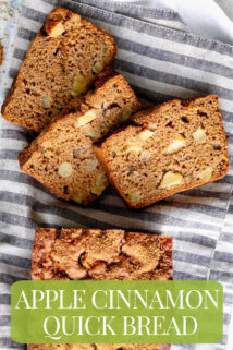 slices of apple cinnamon bread