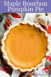 overhead of whole pie
