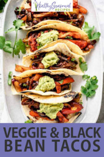 overhead platter of tacos